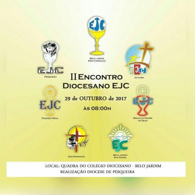 II Encontro Diocesano do EJC